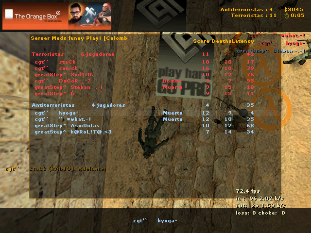 cgt'`     vs greatstep De_dust20006-1615510