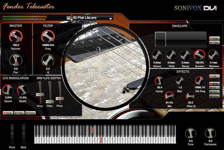 Sonivox Fender Telecaster v2.0